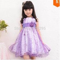 Vestido Infantil Festa Menina 6 Anos