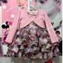 Vestido Infantil De Festa Mini Miss Com Bolero Tam: 1 Ao 3