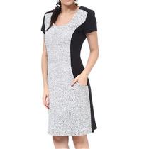 Vestido Com Lã E Bolso Cotton Colors Extra