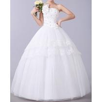 Vestido De Noiva Ou Debutante - Pronta Entrega