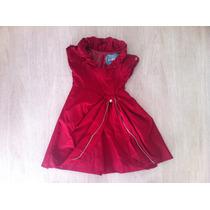 Lindo Vestido Infantil De Festa Vermelho! Tamanho 4! Oferta!