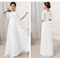 Vestido Noiva Importado Renda Frete Único 19,80