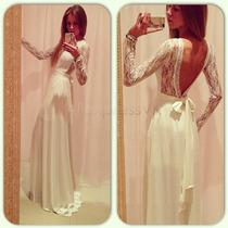 Vestido Noiva Civil Importado Frete Único 29