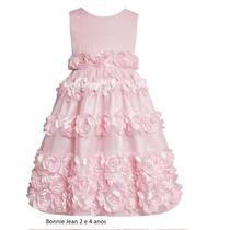 Vestido Bonnie Jean 2, 4 Ou 6x Anos