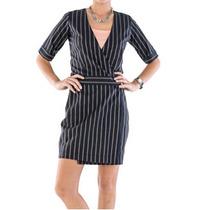 Vestido Envelope Em Tricoline - Frete Grátis - Belle & Bei