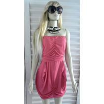 Vestido Tqc Pink Novo Tam M