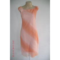 Lindo Vestido C/ Fios Prateados Tam; P R$ 40,00