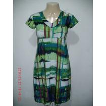Lindo Vestido Estampado Tam: P R$ 40,00