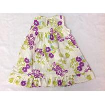 Vestido Floral Bebe Menina Marca Pulla Bulla Lindo Barato D+