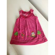 Vestido Marisol Infantil - Plush Com Corujinhas
