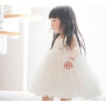 Vestido Infantil Princesa Festas / Aniversario - 5 A 6 Anos