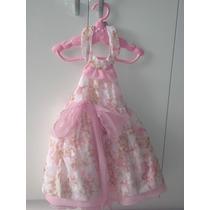 Vestido De Festa Rosa Infantil