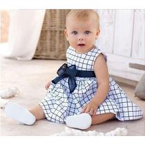Vestido Infantil Bebê Festa, Lindo E Delicado 1,2,3 Anos