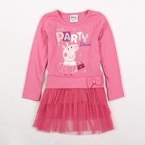 Peppa Pig Vestido Tutu Rosa (pronta Entrega)