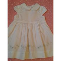 Vestido Branco Menina Bebe Para Batizado E Comemorações