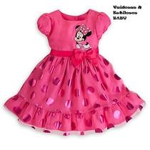 Vestido Festa Infantil Minnie - Pronta Entrega Lindo