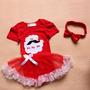 Vestido Body Mamãe Noel Importado Baby Pronta Entrega