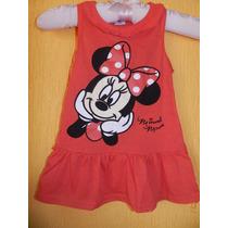 Lindo Vestido Da Minnie -pronta Entrega