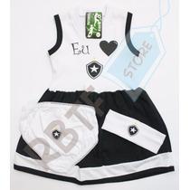Kit Vestido Botafogo