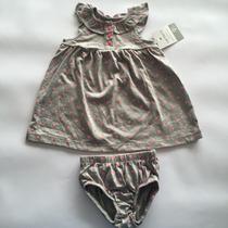 Vestido E Tapa Calcinha Carters (9 Meses)