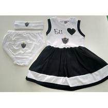 Vestido Bebê Do Atlético Mineiro