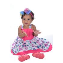 Vestido Bebe Criança Infantil Ref 420 Promoção Liquidação