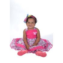 Vestido Bebe Criança Infantil Ref 421 Promoção Liquidação