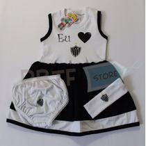 Kit Vestido Atlético Mineiro