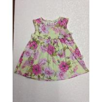Vestido Para Bebê Menina Infantil Pulla Bulla Flores Novo