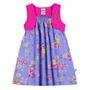 Vestido Bebê Menina Brisa Cotton Boca Grande Bg 242
