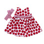 Vestido Infantil Poá Mira Baby Mb 354