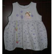 Vestido Menina Bebê Moranguinho