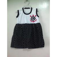 Vestido Torcida Baby Corinthians
