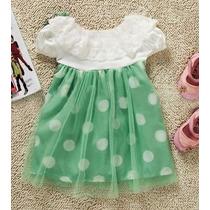 Vestido De Festa Bebê 12 A 18 Meses