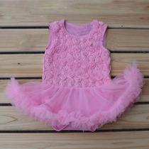 Vestido Body Bailarina Importado Bebê