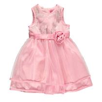 Vestido Importado De Festa Infantil Princesa Pink | Tam. 9 M
