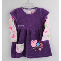 Vestido Para Bebê Da Peppa - Menina