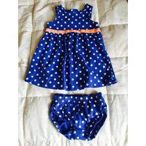 Vestido De Malha Infantil P/ Bebê - Carter