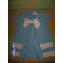 Ne072 Vestido Infantil Lilás C/rosa Pool Kids Tamanho: 2