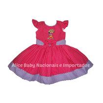 Vestido Festa Dora Aventureira Pink/lilás 1 A 4 Anos