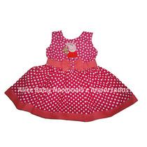 Vestido Festa Peppa Pig Pink/coral 1 A 4 Anos