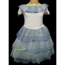 Vestido De Festa Infantil - Promoção - Tamanho 08