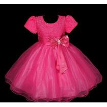 Vestido Infantil Festa/princesa Noite 3 Saias De Tule