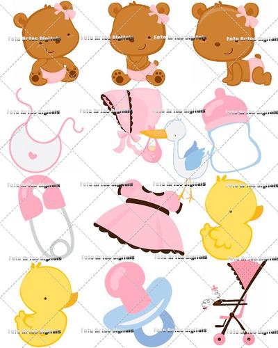 Vetores E Imagens Ursinha Baby Rosa