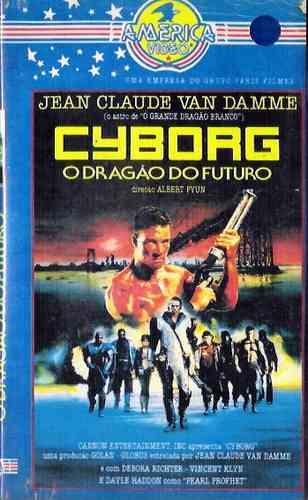 Vhs - Cyborg - Jean Claude Van Damme