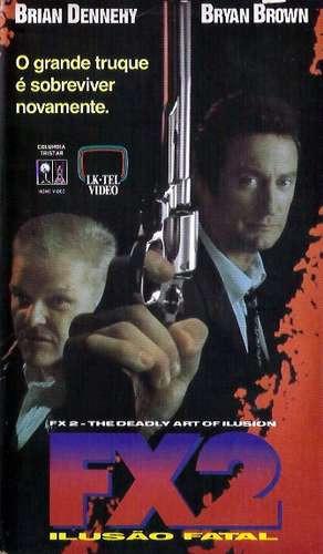 Vhs - Fx2 Ilusão Fatal - Brian Dennehy