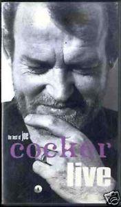 Vhs - Joe Cocker - The Best Of Joe Cocker Live