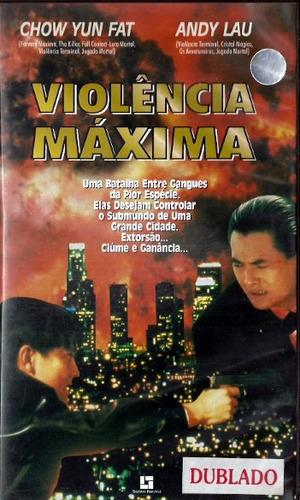 Vhs - Violência Máxima - Chow Yun Fat