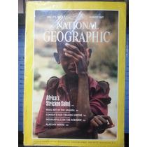 Revista National Geographic Aug/87 Em Inglês - Frete Grátis