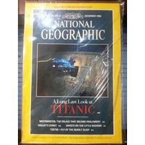 Revista National Geographic Dec/86 Em Inglês - Frete Grátis